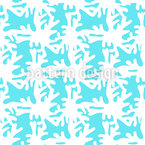White corals Seamless Vector Pattern Design