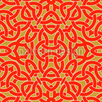 The Celtic Knot Seamless Vector Pattern Design