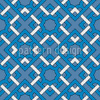 Artist Tribe Seamless Vector Pattern