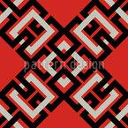 Kunst Kette Vektor Muster