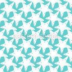 Vollgepackt mit Seesternen Muster Design