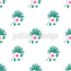 Simple Exotic Bouquets Pattern Design