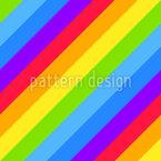 Diagonale Regenbogenstreifen Vektor Design