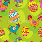 Which Came First Seamless Vector Pattern Design