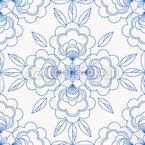 Frische Blüte Musterdesign