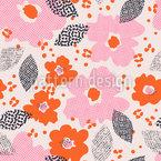 Technodot Blüte Muster Design