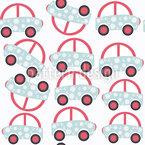Caos de trânsito Design de padrão vetorial sem costura