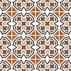 Moroccan Striped Tile Seamless Vector Pattern Design