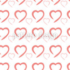 Lonely Hearts Repeating Pattern