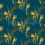 The song of the great tit Repeating Pattern