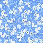 Blumen Wie Eis Musterdesign