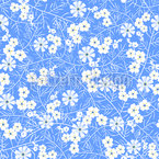Flowers Like Ice Pattern Design