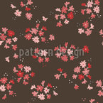 Bed Of Little Flowers   Repeating Pattern
