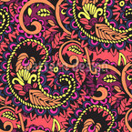 Paisley Seamless Vector Pattern Design
