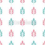 Kleine Minimalistische Zweige Muster Design
