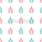 Only Minimalist Branches Seamless Vector Pattern Design