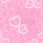 Nature And Love Seamless Pattern