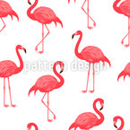 Beautiful flamingo Seamless Vector Pattern Design