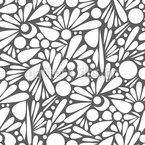 Floral love Vector Pattern