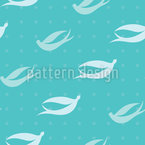 Swallow Dream Estampado Vectorial Sin Costura