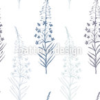 Fireweed flowers Vector Ornament