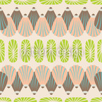 Shell Decor Seamless Vector Pattern Design