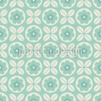 Combination Of Flowers Vector Pattern
