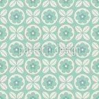 Kombination von Blumen Vektor Muster