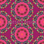 Mandala fowers Pattern Design