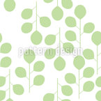 Fresh spring leaves Seamless Vector Pattern Design