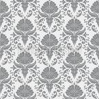 花柄の枝付きダマスク シームレスなベクトルパターン設計