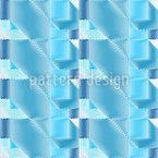 Optische 3D-Illusion Nahtloses Muster