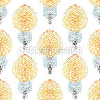 Mosaikkerze Nahtloses Vektormuster