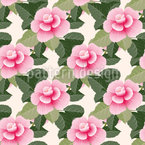Stylized Roses Vector Design