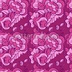 Rizos florales Estampado Vectorial Sin Costura