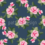 Small Roses Bouquets Vector Design