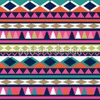 ラテン・パッチワーク シームレスなベクトルパターン設計