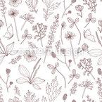 Neugierig den Garden entdecken Vektor Muster