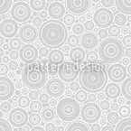 Secession Grey Seamless Vector Pattern Design