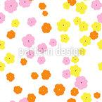 My little flowerfield Repeat Pattern