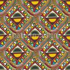Ethnische Stammeszeichen Muster Design