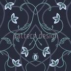 Gotische Blumenfantasie Designmuster