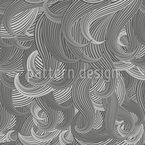 Haar Wellen Musterdesign