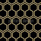 Schwarzer Honig Nahtloses Muster