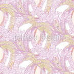 Cobbled Loopings Seamless Vector Pattern Design