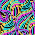 Wellen Twister Musterdesign