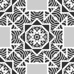 Verbindung der Formen Vektor Muster