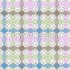 Wolliges Karo Nahtloses Vektor Muster