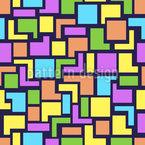 Tetris mit Toleranz Muster Design