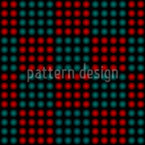 Blurry Dots Vector Ornament